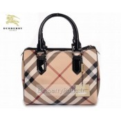 Burberry Noir Sacs Tote Sac Femme Carreaux Trench Occasion