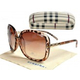 Burberry Oversize Lunettes Marron Cerclee Site Officiel