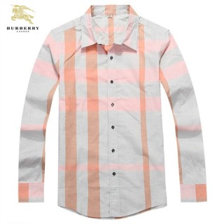 Burberry Chemise Homme Blanc Manches Longue Magasin Marseille