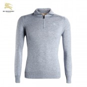 Burberry Gris Pullover Uni Pull Homme Portefeuille
