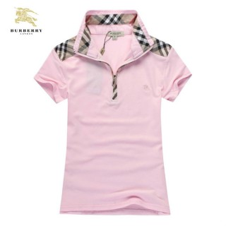 Burberry Rose Uni T Shirt Femme Polo Manches Courte Magasin Marseille