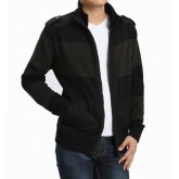 Burberry Noir Zippe Col Montant Cardigans Manches Longue Pull Homme Ballerines