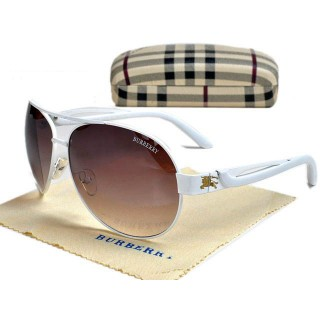 Burberry Ovale Cerclee Lunettes Multicolor Trench Occasion