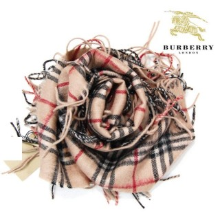 Burberry Marron Echarpe Boutique Paris